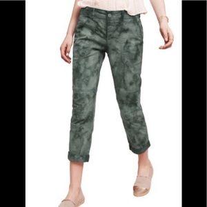 Anthropologie Tie-Dye Cargo Pants